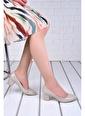 Ayakland Ayakland 1990-2023 Kırık Rugan 5 Cm Topuk Bayan Ayakkabı Ten